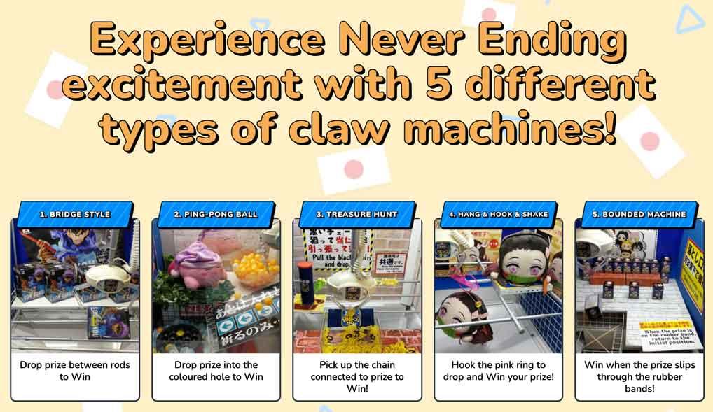 online claw machine step